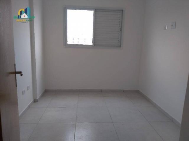 Apartamento residencial para locação, Vila Guilhermina, Praia Grande. - Foto 9