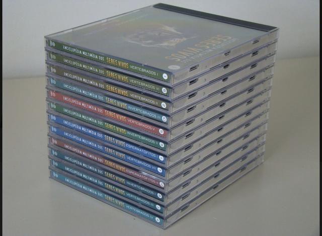 Enciclopédia Multimídia CD-R Para PC Dos Seres Vivos Do Vol. 1 Ao 12 do ano de 1998 - Foto 2