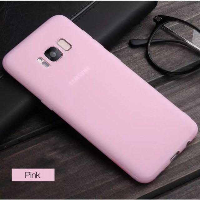 7670 - Capinha Capa Ultra Fina Fosca Samsung Galaxy S8