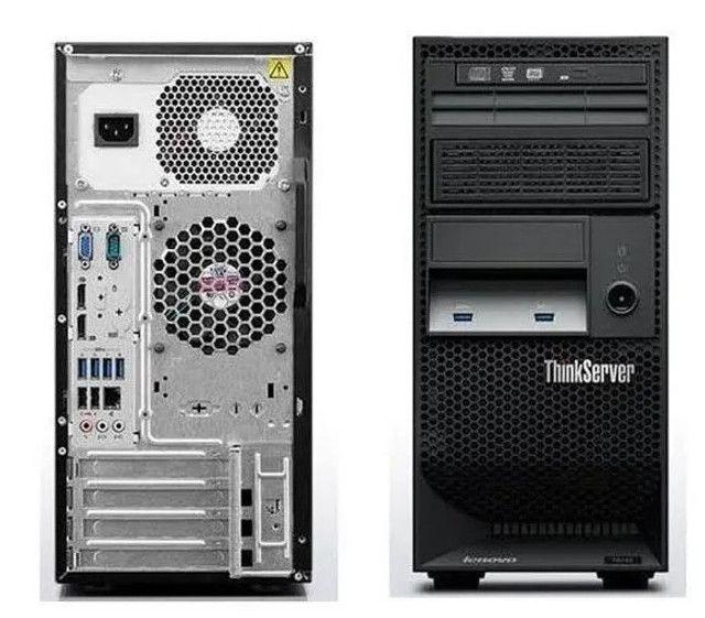 Servidor Lenovo Thinkserver Ts140 Intel Xeon E3-1226 V3(monitor18incluso), R$ 2000 - Foto 2