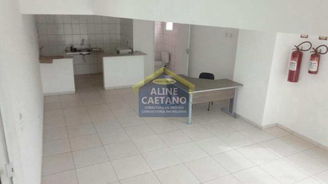Apartamento à venda com 1 dormitórios em Guilhermina, Praia grande cod:AC927 - Foto 9