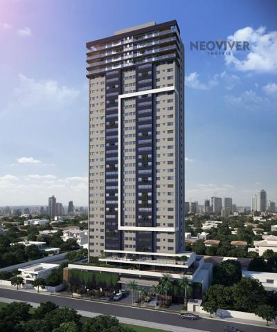Apartamento à venda com 3 dormitórios em Jardim américa, Goiânia cod:458