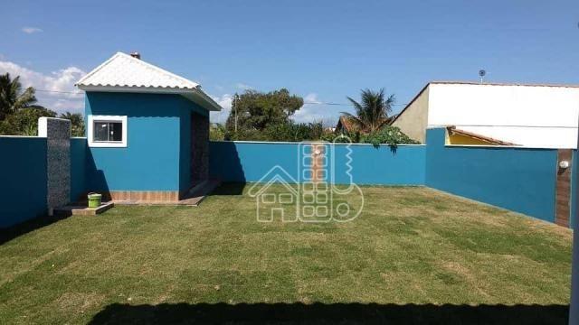 Casa com 3 dormitórios à venda, 130 m² por R$ 550.000,00 - Itaupuaçu - Maricá/RJ - Foto 16
