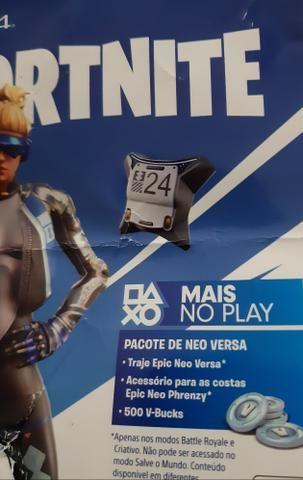 Pacote de Neo Versa - Fortnite PS4