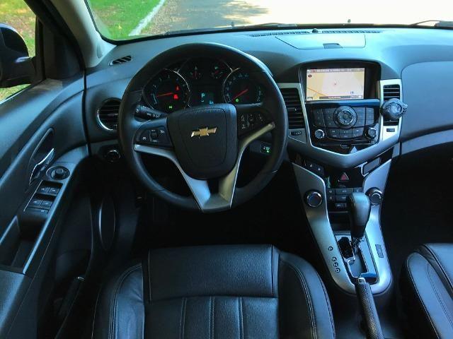 Cruze LTZ Hatch Top de Linha Teto Solar - Corolla Jetta Civic Fusion Focus Golf - Foto 16