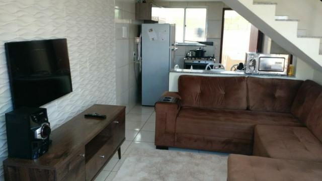 Duplex com dois quartos próximo à Br no Jardim Catarina - Foto 2