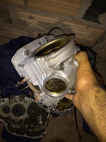 Vendo peças do motor da fazer ou Lander 2011 - Foto 4