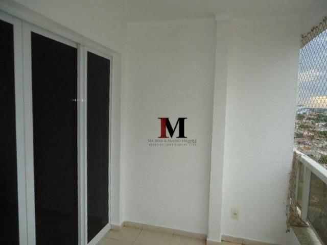 Alugamos apartamento com 3 quartos climatizado e armario de cozinha - Foto 7