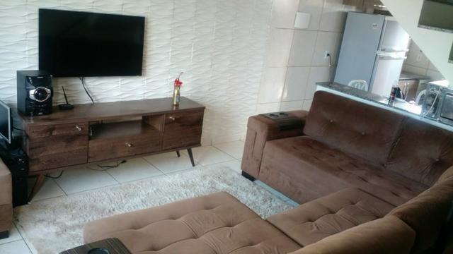 Duplex com dois quartos próximo à Br no Jardim Catarina