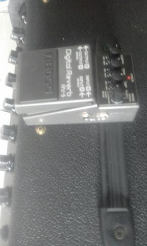 Boss Rv 5 pedal reverb top - Foto 3