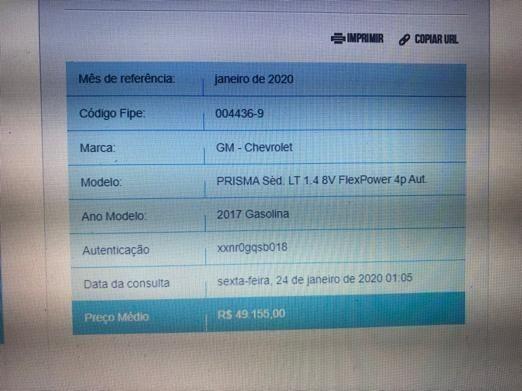 Chevrolet Prisma 1.4 Automático - único dono - km baixa - Foto 6