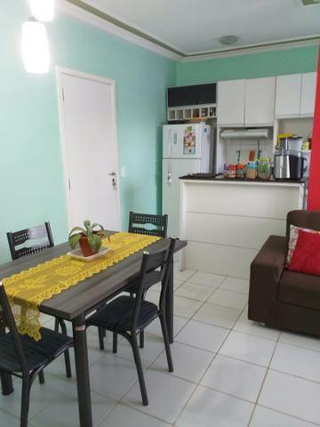 J-Apartamento mobilado no brisas life nascente - Foto 5