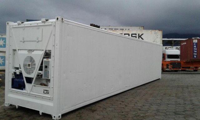 Container frigorífico reefer congelamento