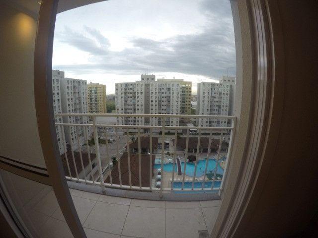 Villaggio Laranjeiras - 2 quartos com armários e ar condicionado na suite - Foto 4