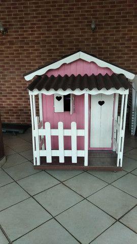 Casinha madeira para crianças - Foto 5