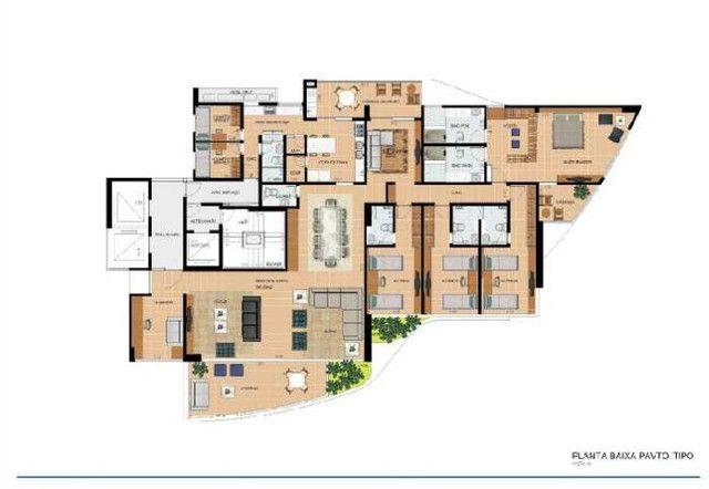 Apartamento a venda em Caruaru com 323 m² 4 suítes 5 vagas de garagem lazer completo - Foto 17