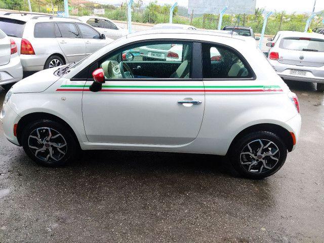 FIAT 500 DUAL 1.4 COMPLETO ANO 2012 - Foto 3