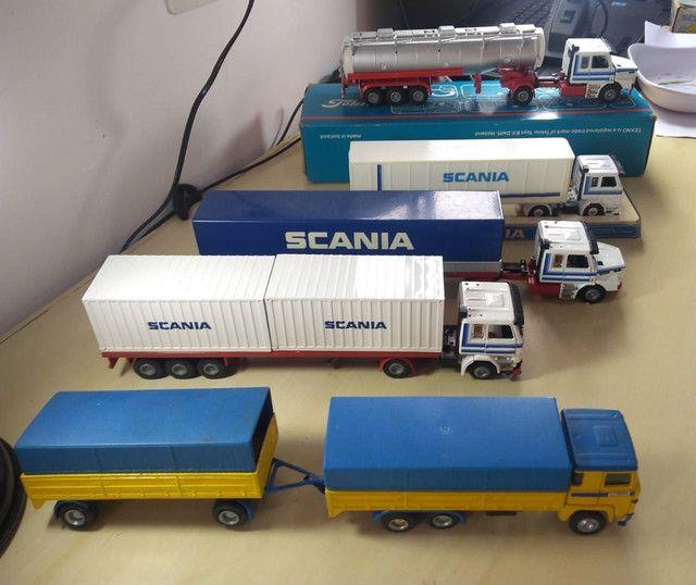 Caminhões miniatura scania  - Foto 4