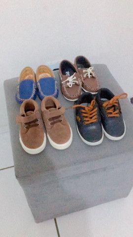 Lote sapato e sandália bebê  - Foto 2