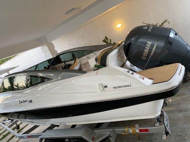 Lancha Focker 210 2019 150hp 30hrs - Foto 7