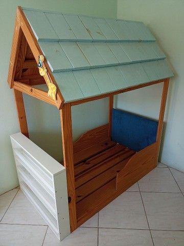 Cama casinha para criança - Foto 2