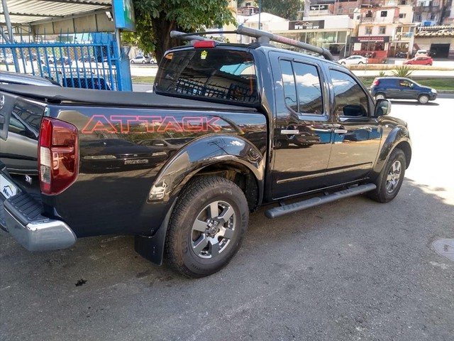 NISSAN FRONTIER 2.5 SV ATTACK 4X4 CD TURBO ELETRONIC DIESEL 4P AUTOMÁTICO - Foto 4