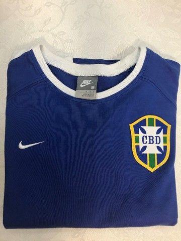 Linda Blusa Nike Seleção Feminino tam. M