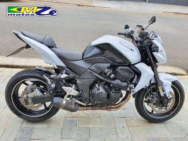 Kawasaki Z 750 2010 Branca com 64.000 km - Foto 2