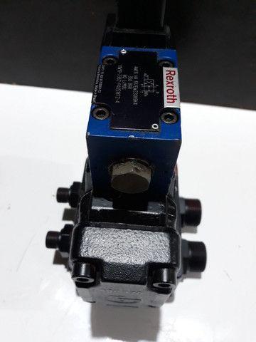 Válvula Direcional Rexroth +Bloco monofodio para Máquinas e Equipamentos hidráulicos  - Foto 6