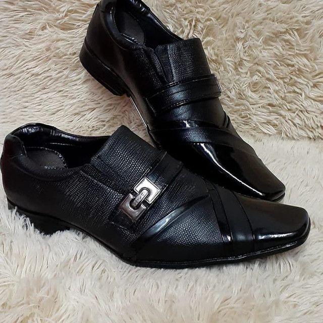 Promoção Imperdível sapato social de qualidade - Foto 4