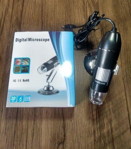Microscópio digital USB  zoom 1600× - Foto 2