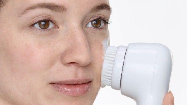 Escova Facial Elétrica Esfoliante Massageadora Portátil 5/1