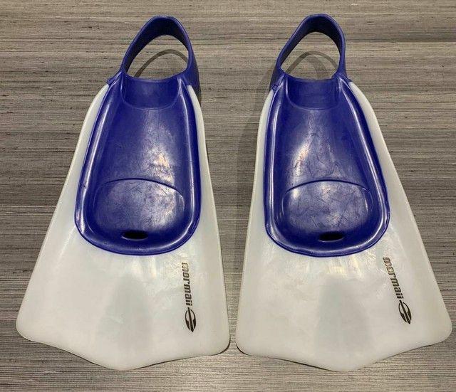 Nadadeira Wave Para Body Board Mormaii Azul.