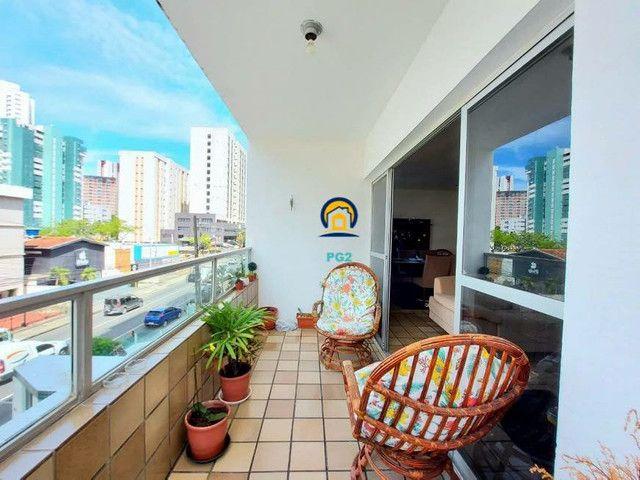 Excelente Apartamento 3 quartos em Boa Viagem, 138m², proximo a praia - Foto 11