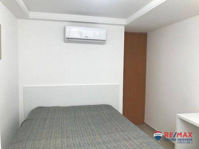 Apartamento com 1 dormitório para alugar, 39 m² por R$ 1.900,00/mês - Cabo Branco - João P - Foto 10