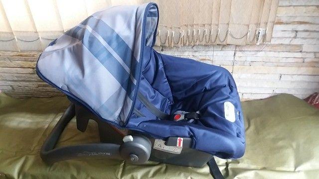 Carrinho de Bebê + Bebê Conforto - - Foto 3