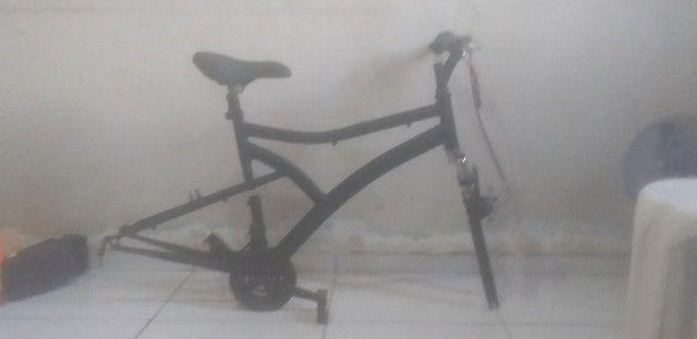 Quadro Aro 26 Bike Caloi Andes<br><br> - Foto 2