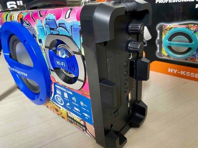 Caixa de Som URBAN SOUND 1500 W de potência! Bluetooth, Microfone e Controle Remoto - Foto 2