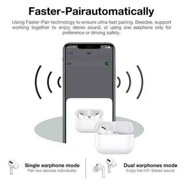 Fone de Ouvido Bluetooth- Air Pods 3 - Foto 3