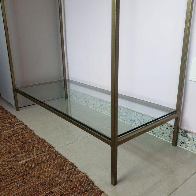 Arara metalon e vidro - Foto 6