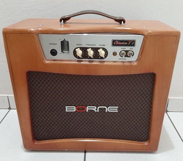 Amplificador cubo valvulado Classico T7 Borne