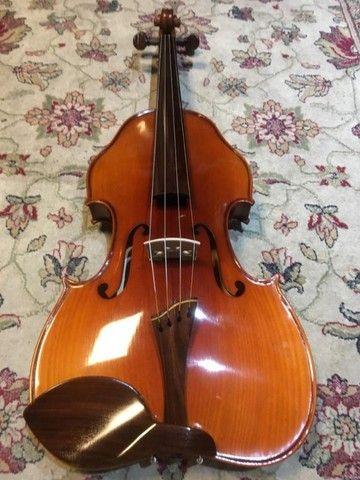 viola de arco rolim premium maestro lizuka serie limitada orquestra 42 - Foto 3