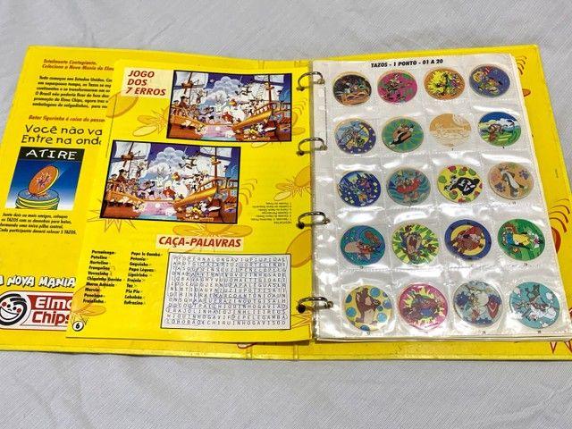 Álbum Livro Ilustrado Tazos Elma Chips - Foto 2