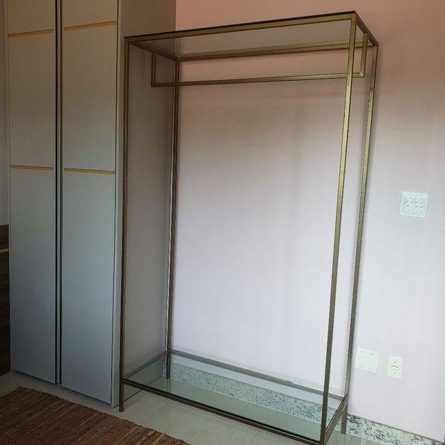 Arara metalon e vidro - Foto 5