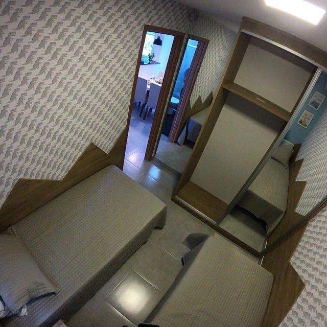 Apartamentos 2 quartos 42m com elevador no planalto | Vista das copaibas - Foto 5