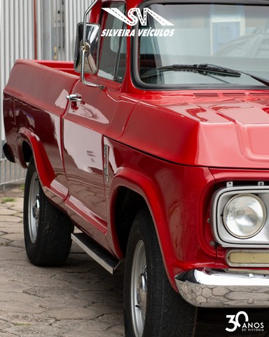 Chevrolet C10 Diesel - Ano: 1974 - Raridade - Foto 4