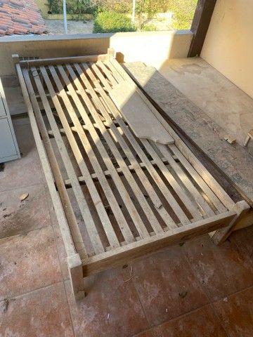 Cama madeira perfeita  solteiro  - Foto 2