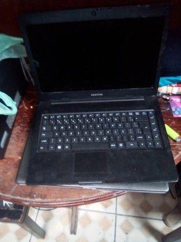 Vendo notebook usado pra reposição de peças ou concerto - Foto 2