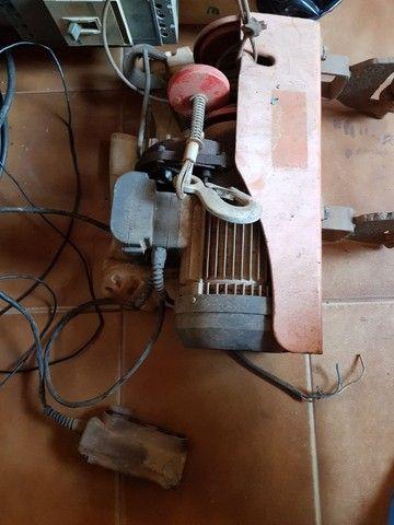 Talha elétrica + barra de movimentação - Foto 2