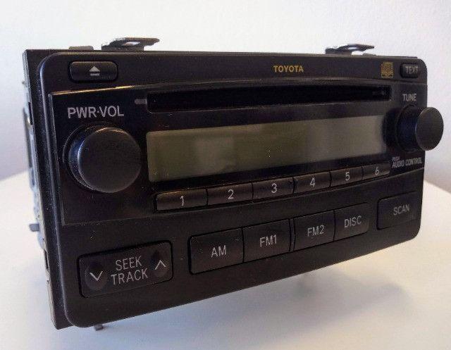 Radio CD Toyota Corolla 2004 até 2008
